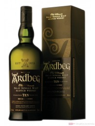 Ardbeg 10 Years Single Malt Scotch Whisky 1,0l