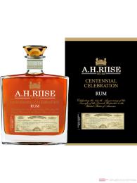 A. H. Riise Centennial Celebration Rum 0,7l