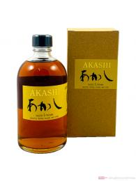 Akashi 5 Years White Wine Cask Single Malt Japanese Whisky 0,5l