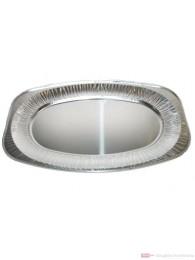 ALUServierplatten oval 55cm x 36cm Qualität ISO 9001/ HACCP 10 St.