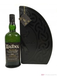 Ardbeg 10 Years Quadrant Limited Edition mit 2 Gläsern 0,7l