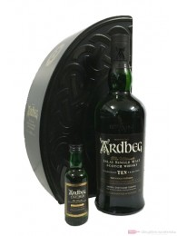 Ardbeg 10 Years Quadrant Limited Edition mit Minatur 0,7l