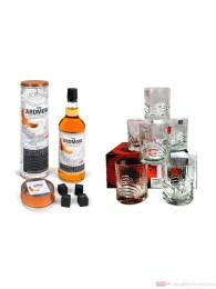 Ardmore Legacy mit Whisky Steinen + 6 Tumbler