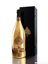 Armand de Brignac Champagner Brut Gold Balthazar in Holzkiste 12l