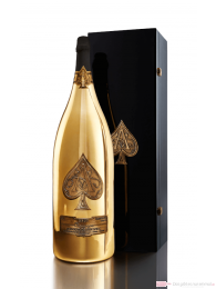 Armand de Brignac Champagner Brut Gold Nebukadnezar in Holzkiste15l