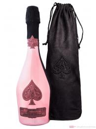Armand de Brignac Brut Rosé Champagner in Samtbeutel 0,75l