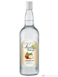 Alpenschnaps Haselnuss Steinbeisser milde Spirituose 1,0l
