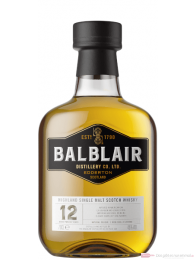 Balblair 12 Years Single Malt Scotch Whisky 0,7l