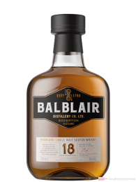 Balblair 18 Years Single Malt Scotch Whisky 0,7l