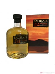 Balblair Bourbon Matured Vintage 2004 Single Malt Scotch Whisky 1,0l