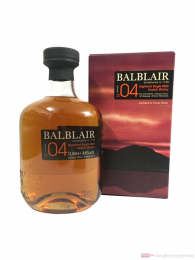 Balblair Sherry Matured Vintage 2004 Single Malt Scotch Whisky 1,0l