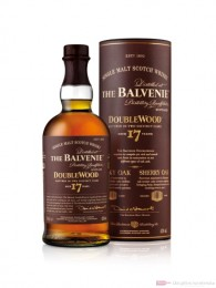 Balvenie Doublewood 17 Jahre Single Malt Scotch Whisky 0,7l