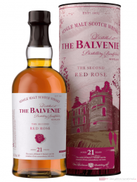 The Balvenie 21 Years Second Red Rose Single Malt Scotch Whisky 0,7l