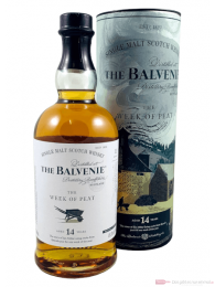 Balvenie 14 Years The Week of Peat Single Malt Scotch Whisky 0,7l