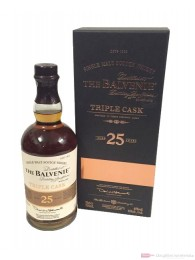 Balvenie Tripple Cask 25 Years Single Malt Scotch Whisky 0,7l Flasche