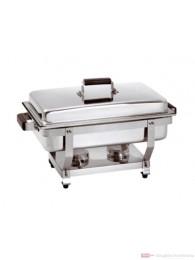 Bartscher Chafing Dish 1/1 GN Holzdekor 500456