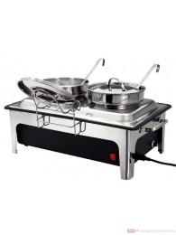 Bartscher Elektro-Suppenstation mit 2 Suppentöpfen a 4 l 500840