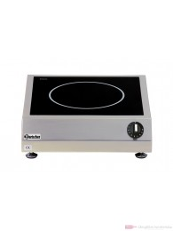 Bartscher Induktionstischherd mit einer Kochstelle mit 5 kW / 400 V