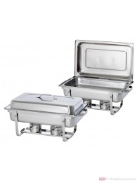 Bartscher Twin Pack 2 Chafing Dishes 1/1 GN 500486