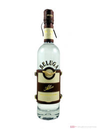 Beluga Allure Noble Russian Vodka in Ledermanschette 0,7l