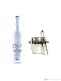 Belvedere Vodka 0,7l Vodka + Eiskübel 1l und Eiszange