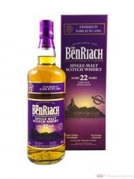 Benriach 22 Years Dark Rum Wood Finish 0,7l
