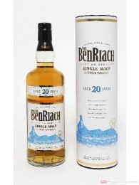 BenRiach 20 Jahre Speyside Single Malt Scotch Whisky 40% 0,7l Flasche