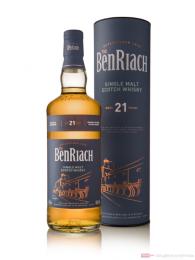 BenRiach 21 Jahre Speyside Single Malt Scotch Whisky 0,7l