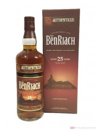 BenRiach 25 Years Authenticus Limited Edition 0,7l