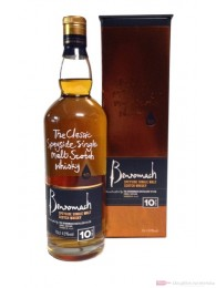 Benromach 10 Years Speyside Single Malt Scotch Whisky 0,7l