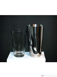 Boston Shaker komplett Profiausführung mit dem original Mixing Glas
