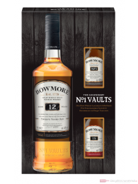 Bowmore 12 Years mit 2 Miniaturen