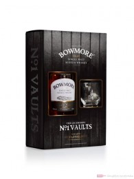 Bowmore 12 Years mit Glas Single Malt Scotch Whisky 0,7l