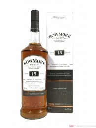 Bowmore 15 Years Golden & Elegant Single Malt Scotch Whisky 1,0l