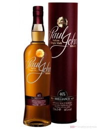 Paul John Brilliance Indischer Single Malt Whisky 0,7l