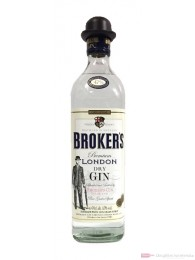 Broker's London Dry Gin 47% 0,7l