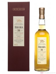 Brora 38 Years Limited Edition 2016 Single Malt Scotch Whisky 0,7l
