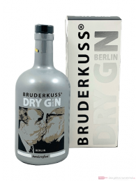Bruderkuss Luxury Handcrafted Berlin Dry Gin 0,5l