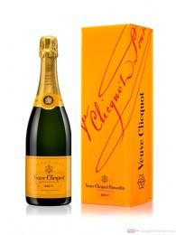 Veuve Clicquot Brut Champagner im Geschenkkarton 0,75l