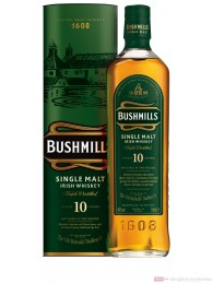 Bushmills 10 Jahre Single Malt Irish Whiskey 40% 0,7l Whisky Flasche