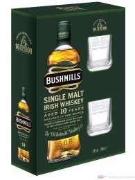 Bushmills Whiskey 10 Years 2 Gläser