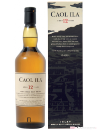 Caol Ila 12 Years Islay Single Malt Scotch Whisky 0,7l
