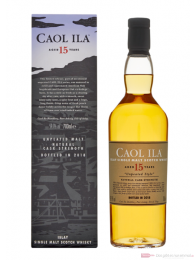 Caol Ila 15 Years 2018 Single Malt Scotch Whisky 0,7l