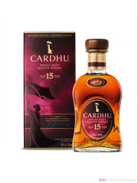 Cardhu 15 Jahre Single Malt Scotch Whisky 40% 0,7l Flasche