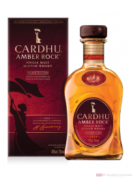 Cardhu Amber Rock Single Malt Scotch Whisky 0,7l