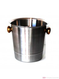 Champagner Kühler Aluminium poliert