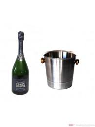 Charles Heidsieck Champagner Brut Reserve Champagner Kühler 0,75l