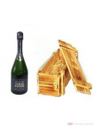 Charles Heidsieck Champagner Brut Reserve in Holzkiste 0,75l