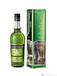 Chartreuse grün in Geschenkdose Likör 0,7l