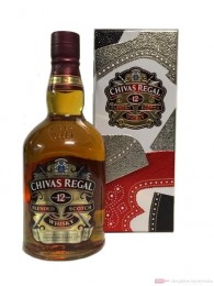 Chivas Regal Whisky 12 Jahre Tim Little Tinbox 0,7l
